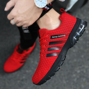 Size 7-13 Sneakers Men Air Cushion Shoes Outdoor Sport Casual Breathable Fitness