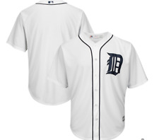 MLB Majestic Authentic Detroit Tigers Home Baseball Jersey New Mens XL