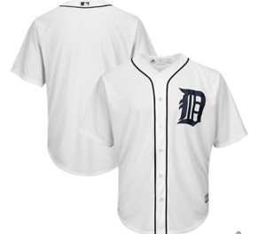 MLB Majestic Authentic Detroit Tigers Home Baseball Jersey New SMALL $100