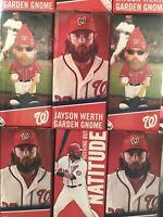 Multiple Jayson Werth Gnome Washington Nationals NIB SGA Buy It Now