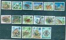 FLORE & FAUNE - FLORA & FAUNA SEYCHELLES 1977 Common Stamps