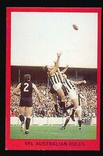 1973 Sunblest Sports Action Tip Top Bread Graeme Jenkin Collingwood card r