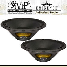 """Eminence ALPHA-12A 12"""" 300W 8-Ohm For PRO Audio Mid-Bass Applications (PAIR)."""