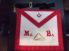 Franc-maçonnerie Tablier Maître outils REAA - Masonic apron