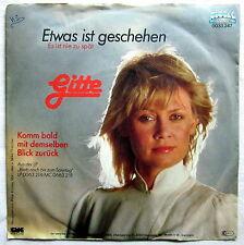 """7"""" Single G - ETWAS IST GESCHEHEN - Gitte"""