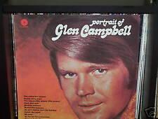 "PORTRAIT OF GLEN CAMPBELL - AUSTRALIAN LP RECORD VINYL 12"" 33/3"