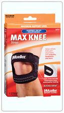 Mueller Sport Care Max Knee Strap Brace Support 6479-1 Black OSFM