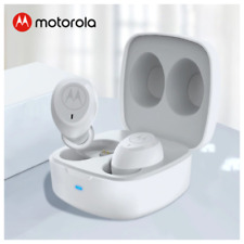 Motorola Bluetooth 5 Stereo Earphone True Wireless Earbuds 14H play time W/ R