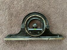 Unknown Brand Machinist Combination Square Protractor Head Works Good