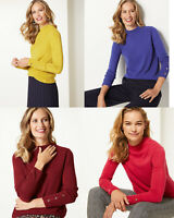 M&S Marks & Spencer MS Womens Turtle neck Jumper Sweater Top 8 10 12 14 16 18