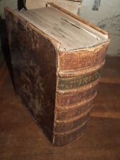 1746 THESAURUS LINGUAE LATINAE DICTIONARY OF ENGLISH & LATIN BY ROBERT AINSWORTH