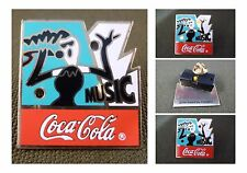 PIN'S BADGE COCA COLA MUSIC CLIGNOTANT THE COCA COLA COMPANY