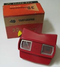 More details for viewmaster model e viewer red bakelite