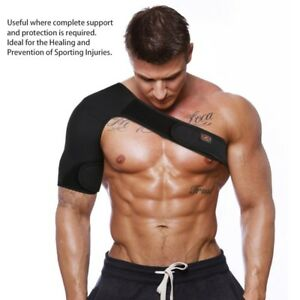 New Brace Dislocation Injury Arthritis Pain Protective Shoulder Support Strap