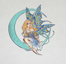 """Amy Brown Moon Jewel Fairy Embroidered iron-on Patch 3 1/2"""""""