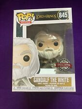 More details for funko pop gandalf the white 845 the lord of the rings special edition bnib