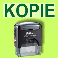 KOPIE - Shiny Printer Schwarz S-842 Büro Stempel Kissen Grün