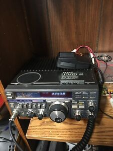 Yaesu FT-757GX Ham Radio Transceiver With Mic And Power Cable
