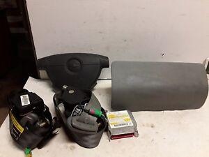 04 05 Chevy Aveo airbag set wheel Dash belts module OEM black gray 96406174