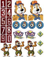 Cub Scouts TIGER Scrapbooking Craft Sticker Sheet Set #1
