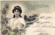 German Printed Collectable Glamour Postcards