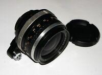 Carl Zeiss Jena Flektogon lens 2.8/35 mm Exakta mount Zebra Edition Germany