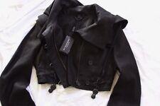 $1995 Burberry Prorsum Cropped Linen Parka Jacket Sz 46 + FREE SHOES