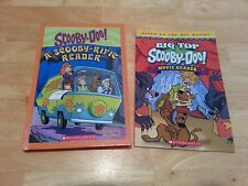 LOT OF 2 Scooby Doo Books ~ Big Top  & A Scooby-Rific Reader ~ 5 Stories