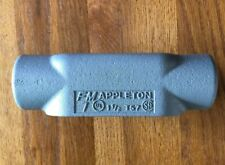 "Appleton T57 Form 7 1-1/2"" Grayloy Conduit Body"