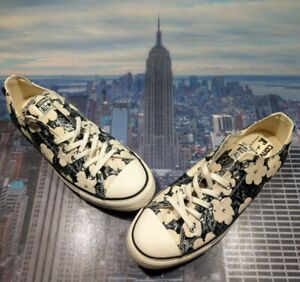 Converse x Andy Warhol Chuck Taylor All Star Ox Low Top Floral Size 10.5 151033c