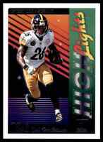 2018 DONRUSS HIGHLIGHTS LE'VEON BELL PITTSBURGH STEELERS #H-20 INSERT