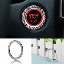 Crystal Decor Car Engine Start Key Ring Start Stop Ignition Button Sticky Ring