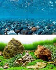 Plakat Boden aquarium wendbar 200 X 60 cm galet/sea