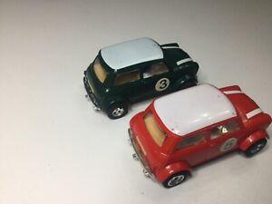 vintage scalextric cars Mini Cooper X2