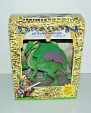 "Dragon Of Saint George Figure With Story Scroll & Panoramic Background 7.5"" NEW"