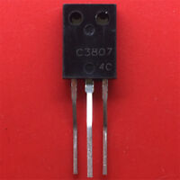 10PCS  Power tri transistor 2SC3807 NPN silicon tube TO-126  NEW