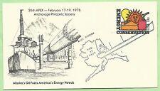 USA GS Alaska's oil SSt. APEX 1978, Energy Conservation Mi. 1315, Petroleum