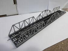 2 x Kastenbrücke + 1 x Bogenbrücke (Brücke) für Spur TT DDR Standardgleis