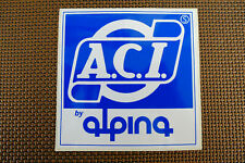ACI Alpina Bicycle Spokes And Nipples components ( 1 STICKER DECAL ONLY )
