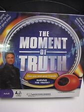 The Moment Of Truth Game 2008 Selchow & Righter NIB Sealed