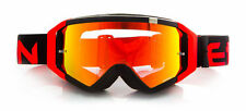 ETHEN ZEROCINQUE DIRT MX0509 BLACK/RED FLUO MASCHERINA CROSS ENDURO OFFROAD