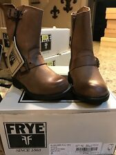 Frye 97510 Girls Engineer Pull On Boot Gaucho Brown Size 5 NIB RARE Boots