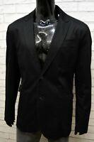 Diesel Giacca da Uomo Taglia XL Cappotto Nero Blazer Casual Jacket Man Black
