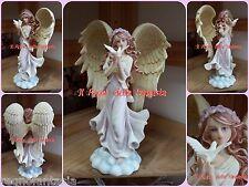 ANGELO ANGEL FAIRY FEES ELFEN FATA CON COLOMBA SIMIL VERONESE NO LES ALPES