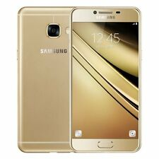 "Samsung Galaxy C5 Duos (Gold, 32GB) 4GB 5.2"" 4G LTE Imported"