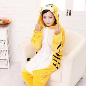 New Kigurumi Pajamas Anime Cosplay Costume unisex Adult Jumpsuit Dress Sleepwear