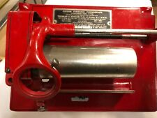Rare Red Color Edison Fireside Phonograph Motor Possibly Repainted