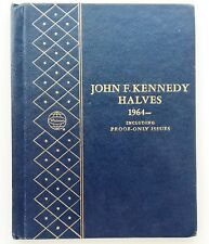 1964-1976 Kennedy Half Dollar Partial in Whitman Album, Incl. Proofs [3729.08]