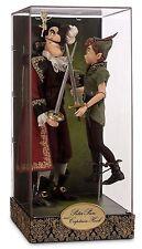 Disney Fairytale Designer Heroes Vs Villains Peter Pan & Captain Hook Doll Set