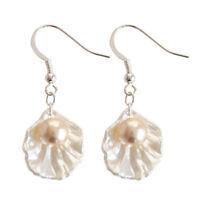 Fashion Women Pearl Shell Earrimng Drop Hook Dangle Earrings Jewelry Gifts Hot